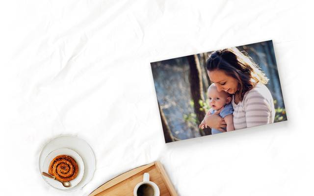 Framed Canvas Print Your Personalised Photo Picture various sizes Ready to hand